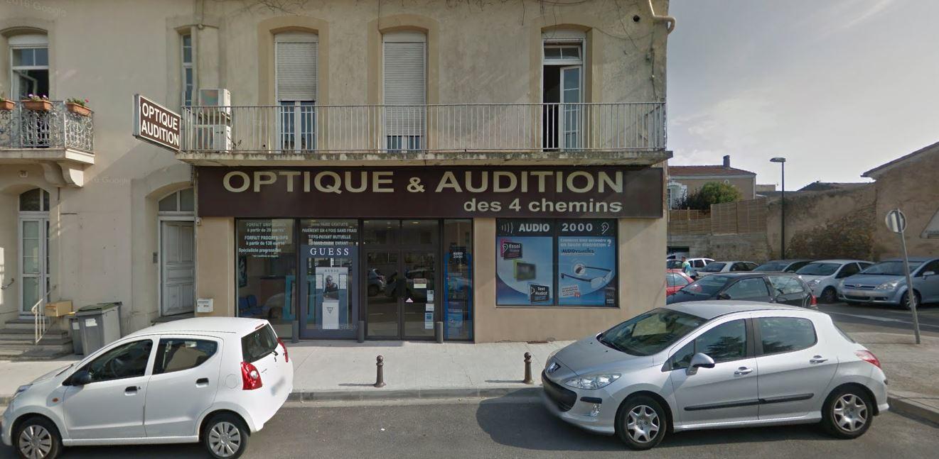 devanture audio carcassonne optique & audition 11000